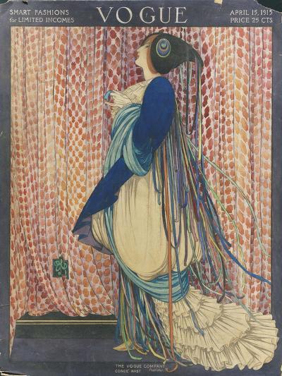 Vogue - March 1915-George Wolfe Plank-Premium Giclee Print