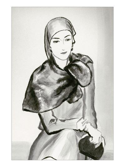 Vogue - March 1930-Ren? Bou?t-Willaumez-Premium Giclee Print