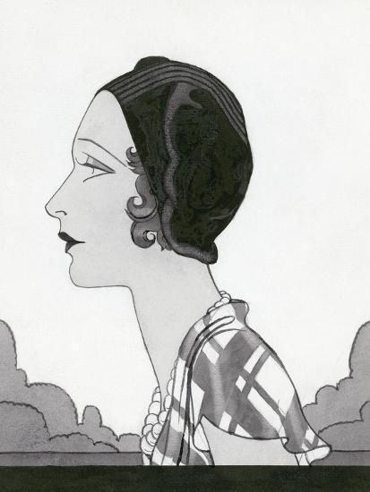 Vogue - March 1931-Douglas Pollard-Premium Giclee Print