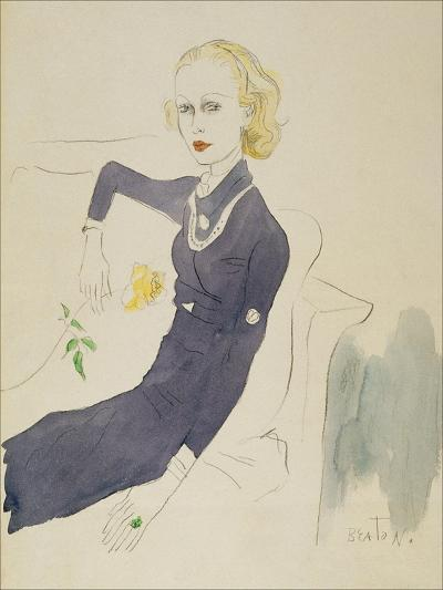 Vogue - March 1933-Cecil Beaton-Premium Giclee Print