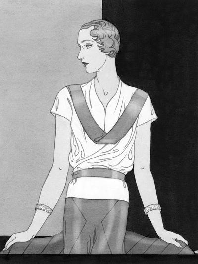 Vogue - March 1933-Douglas Pollard-Premium Giclee Print