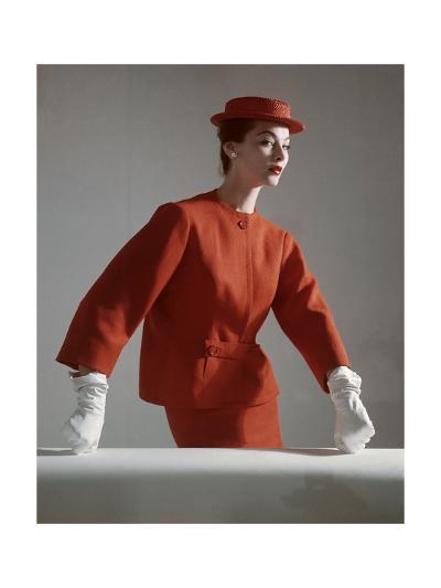 Vogue - March 1952-Horst P. Horst-Premium Photographic Print