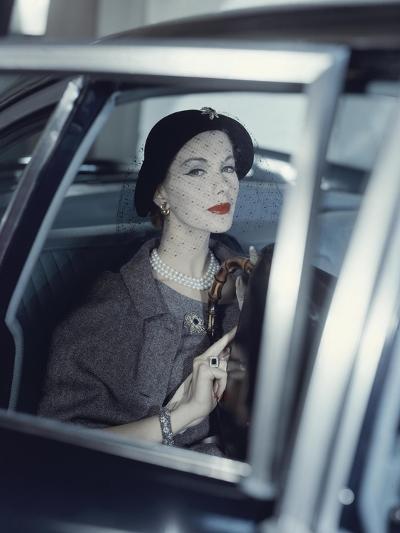 Vogue - March 1957-Clifford Coffin-Premium Photographic Print