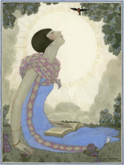 Vogue - May 1926-Georges Lepape-Premium Giclee Print