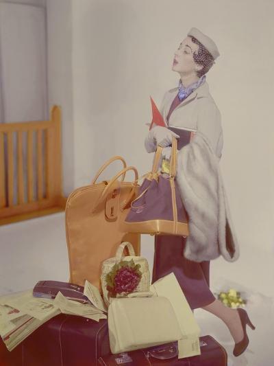 Vogue - May 1950-Horst P. Horst-Premium Photographic Print