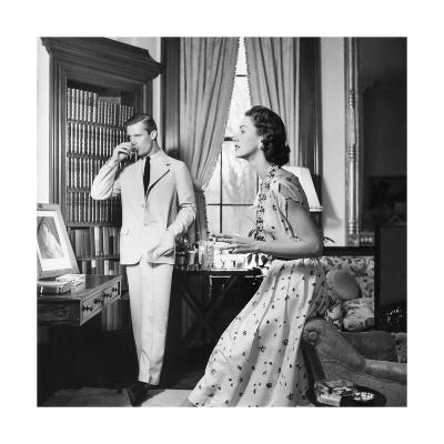 Vogue - May 1954-John Rawlings-Premium Photographic Print
