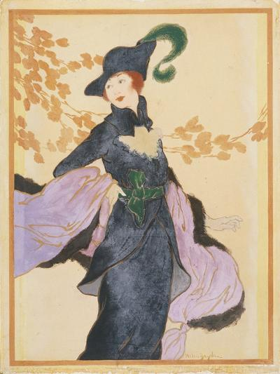Vogue - November 1912-Helen Dryden-Premium Giclee Print