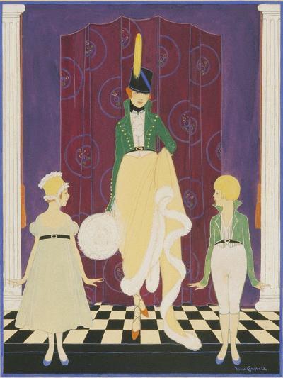 Vogue - November 1916-Irma Campbell-Premium Giclee Print
