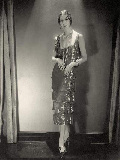 Vogue - November 1925-Edward Steichen-Premium Photographic Print