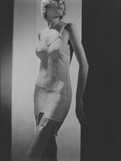 Vogue - November 1932-Horst P. Horst-Premium Photographic Print