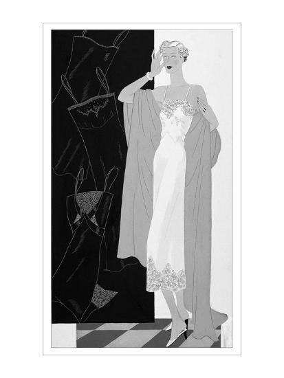 Vogue - November 1934-Eduardo Garcia Benito-Premium Giclee Print