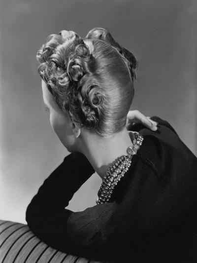 Vogue - November 1938-John Rawlings-Premium Photographic Print