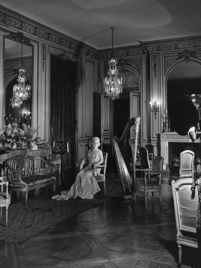 Vogue - November 1941 - Grace Wilson Vanderbilt-Cecil Beaton-Premium Photographic Print