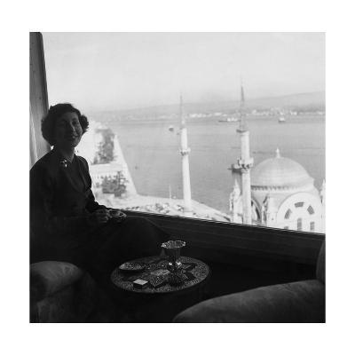 Vogue - November 1954-Horst P. Horst-Premium Photographic Print