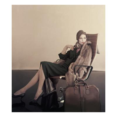 Vogue - November 1960-Karen Radkai-Premium Photographic Print