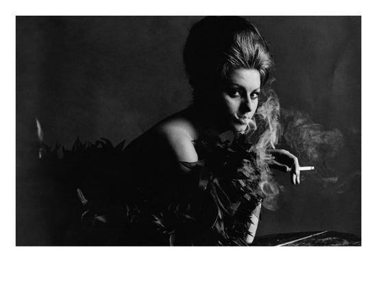 Vogue - November 1962 - Smoky Sophia-Bert Stern-Premium Photographic Print