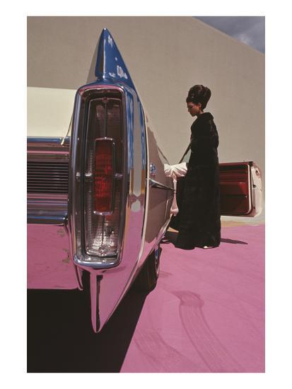 Vogue - November 1964 - Cadillac de Ville-Gene Laurents-Premium Photographic Print