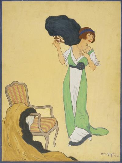 Vogue - October 1911-Helen Dryden-Premium Giclee Print