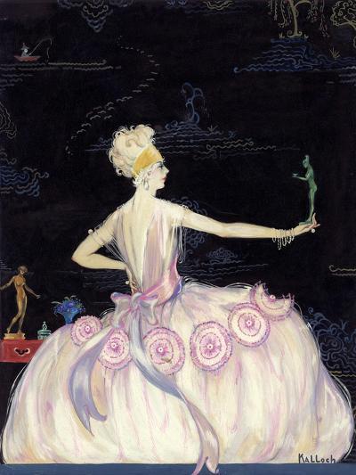 Vogue - October 1920-Robert Kalloch-Premium Giclee Print
