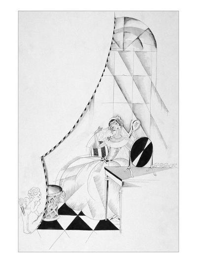 Vogue - October 1922-John Barbour-Premium Giclee Print