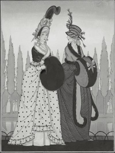 Vogue - October 1925-Claire Avery-Premium Giclee Print
