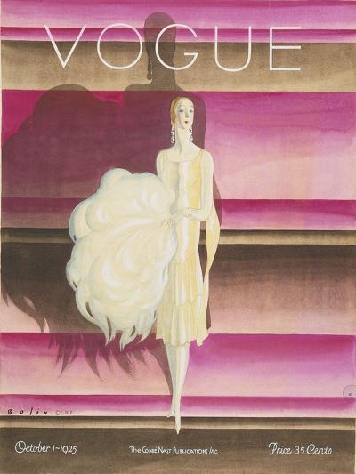 Vogue - October 1925-William Bolin-Premium Giclee Print
