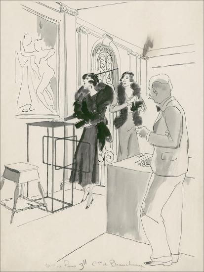 Vogue - October 1932-Jean Pag?s-Premium Giclee Print