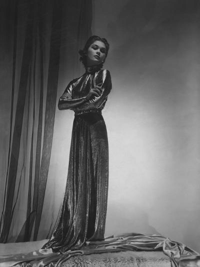 Vogue - October 1935-Horst P. Horst-Premium Photographic Print