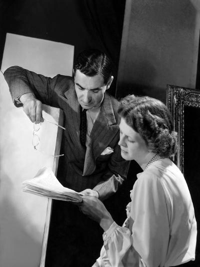 Vogue - October 1942-Horst P. Horst-Premium Photographic Print