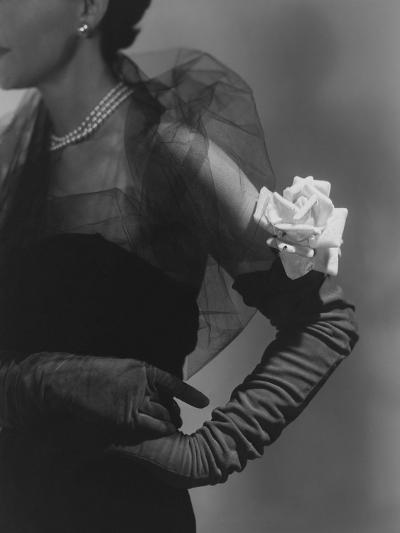Vogue - October 1950-Horst P. Horst-Premium Photographic Print