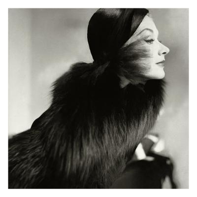 Vogue - October 1951-Frances Mclaughlin-Gill-Premium Photographic Print