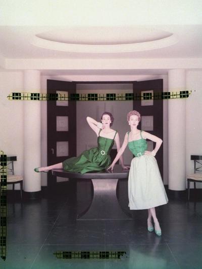 Vogue - October 1951-John Rawlings-Premium Photographic Print