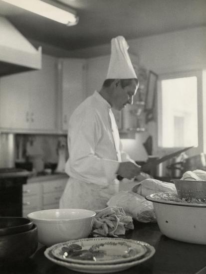 Vogue - October 1954-Karen Radkai-Premium Photographic Print