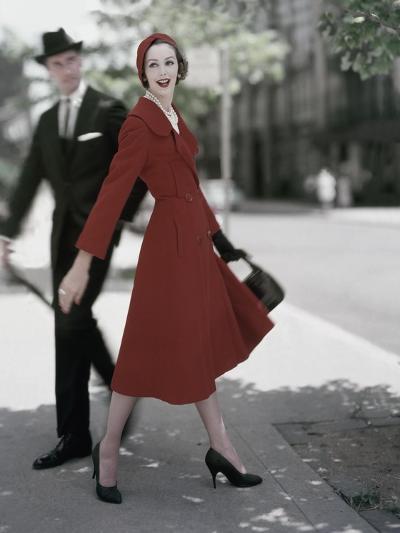 Vogue - October 1957-Karen Radkai-Premium Photographic Print
