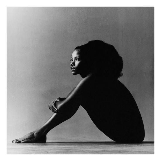 Vogue - October 1971 - Melba Moore, 1971-Jack Robinson-Premium Photographic Print