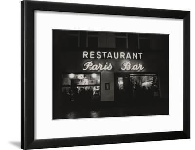 Vogue - October 1985 - Paris Restaurant in Berlin-Dominique Nabokov-Framed Premium Photographic Print