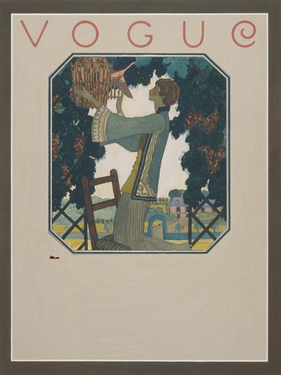 Vogue - September 1922-Leslie Saalburg-Premium Giclee Print