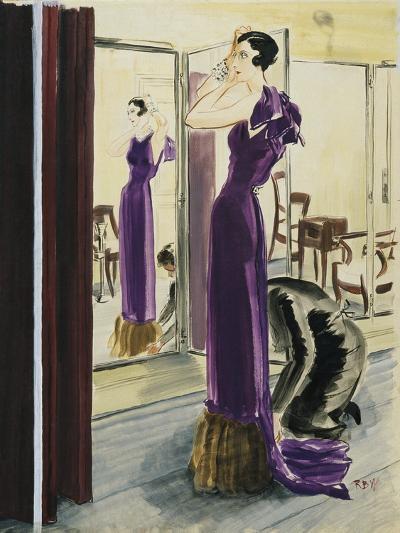 Vogue - September 1933-Ren? Bou?t-Willaumez-Premium Giclee Print