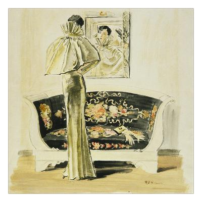 Vogue - September 1934-Ren? Bou?t-Willaumez-Premium Giclee Print