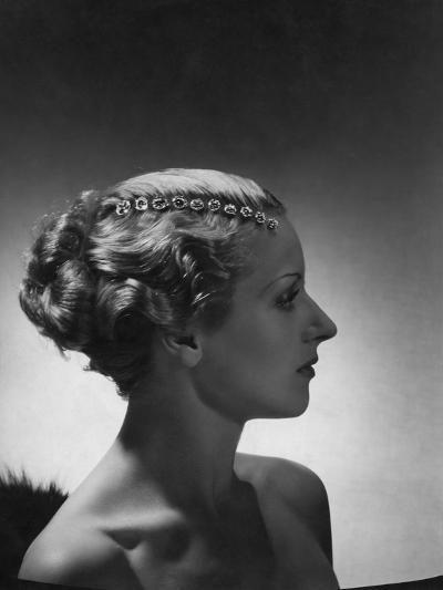 Vogue - September 1934-Horst P. Horst-Premium Photographic Print