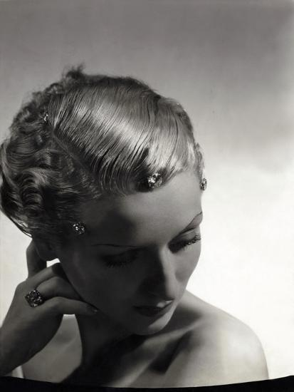 Vogue - September 1934-Horst P. Horst-Premium Photographic Print