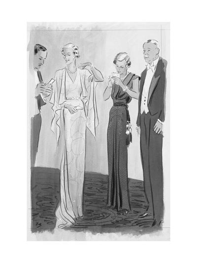 Vogue - September 1935-Eduardo Garcia Benito-Premium Giclee Print