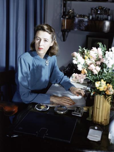 Vogue - September 1942-Horst P. Horst-Premium Photographic Print