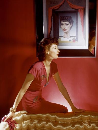 Vogue - September 1943-Horst P. Horst-Premium Photographic Print