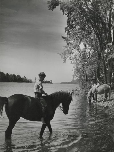 Vogue - September 1943-Serge Balkin-Premium Photographic Print