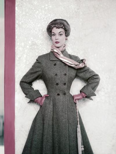 Vogue - September 1951-Horst P. Horst-Premium Photographic Print