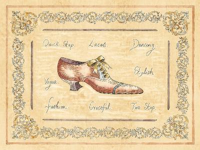 Vogue Shoe-Banafshe Schippel-Art Print