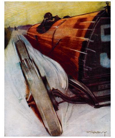 Voitures de Courses- Draguy-Giclee Print