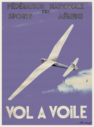 Vol A Voile--Art Print