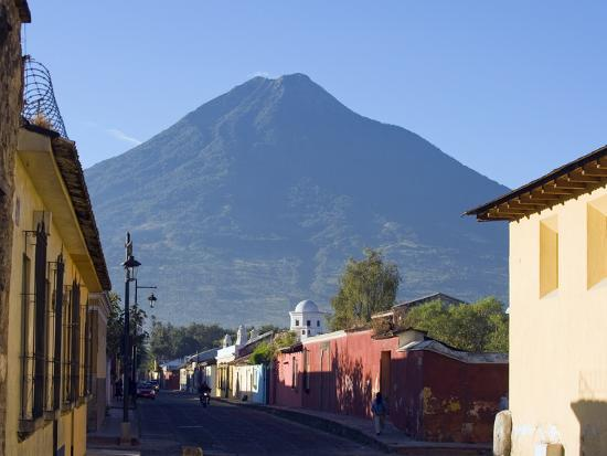 Volcan De Agua, 3765M, Antigua, Guatemala, Central America-Christian Kober-Photographic Print